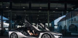 BMW i8 Coupé.