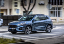 Nuevo Ford Kuga híbrido enchufable.