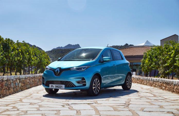 El Renault ZOE es el vehículo eléctrico más vendido en Europa en enero de 2020.
