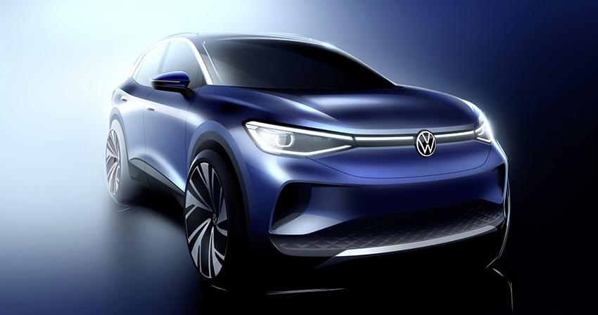Primeras imágenes del SUV compacto eléctrico de Volkswagen