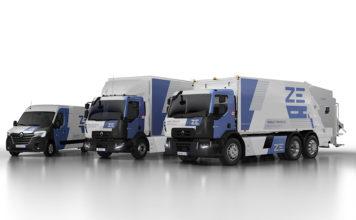 Nueva gama de camiones eléctricos de Renault Trucks.