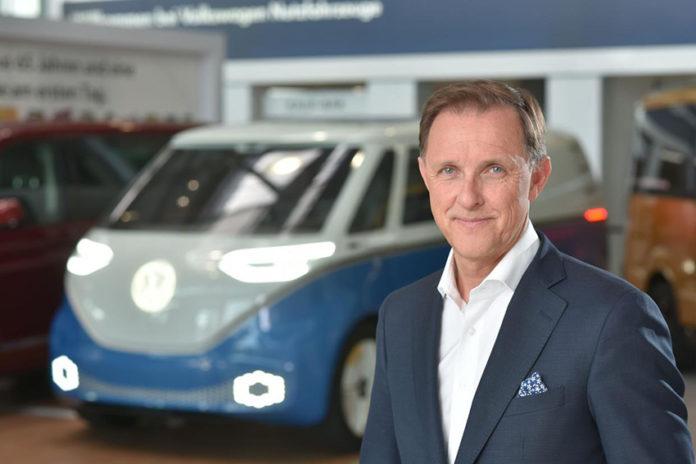 Thomas Sedran , presidente de Volkswagen Vehículos Comerciales.