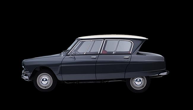 Citroën Ami de 1961.