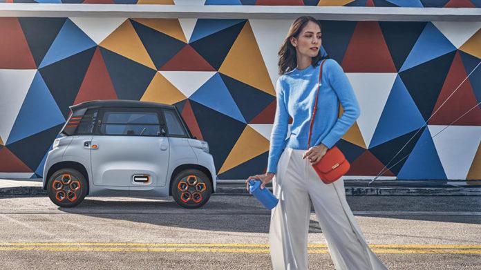 Premio Disruptor para el Citroën Ami One de la revista BBC Top Gear Electric Awards 2020.