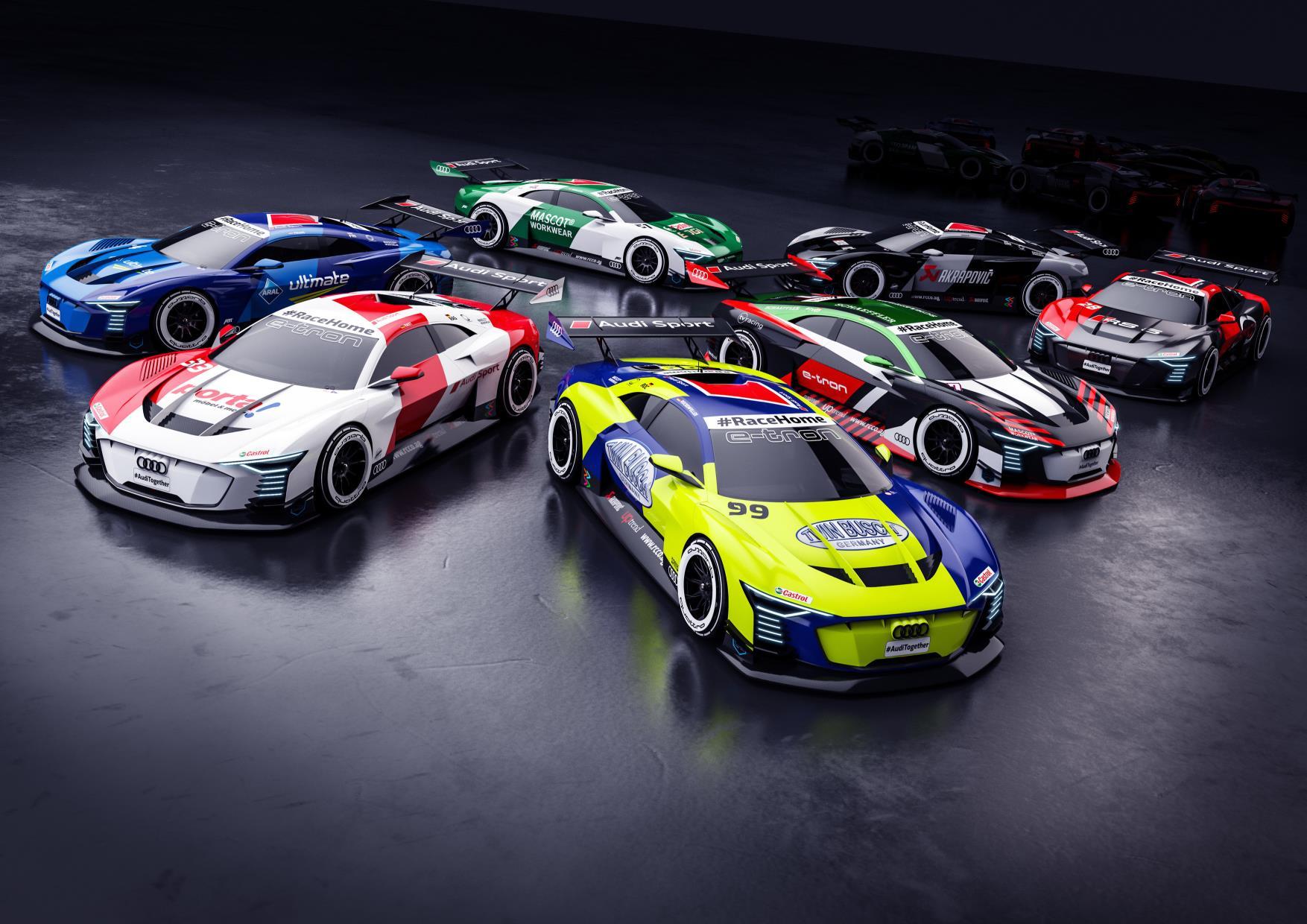 Audi DTM RaceHome.