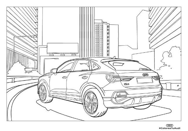 Colorea tu Audi.