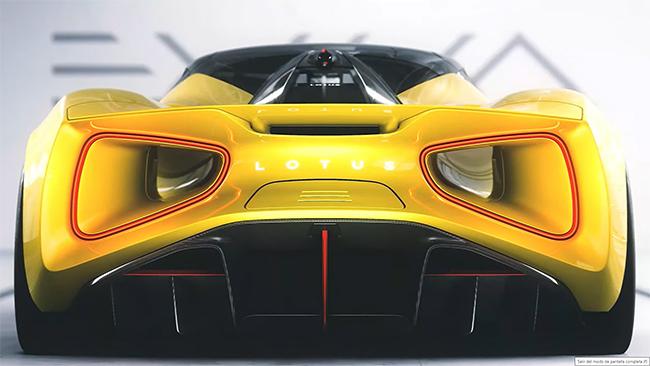 Lotus Evija en Solaris Yellow.