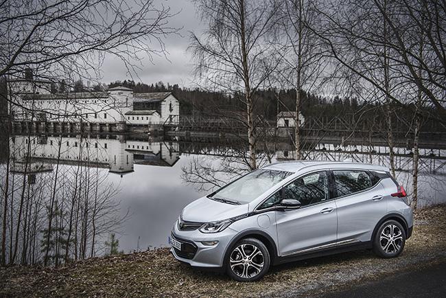 Oslo Abril 2017. Opel Ampera-E.