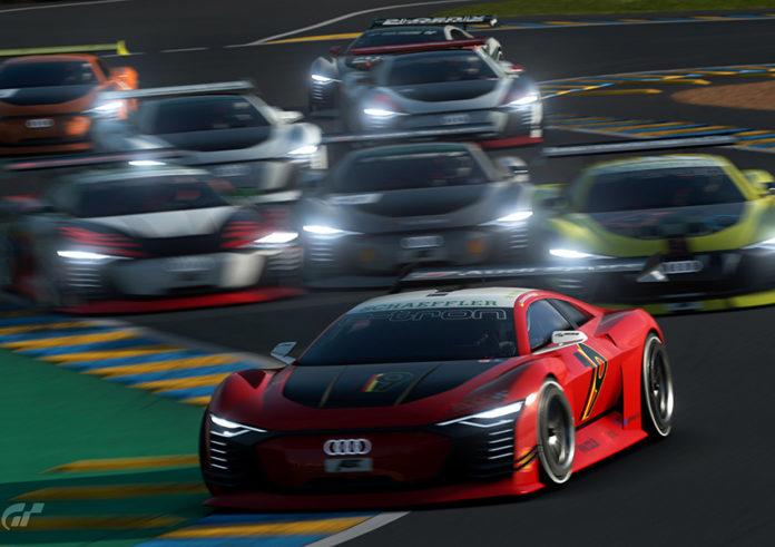 RaceHome tiene como protagonista de la carrera al Audi e-tron Vision Gran Turismo.