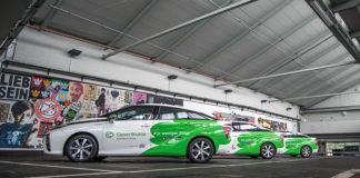 CleverSuttle ha demostrado la fiabilidad de su flota de Toyota Mirai de hidrógeno.