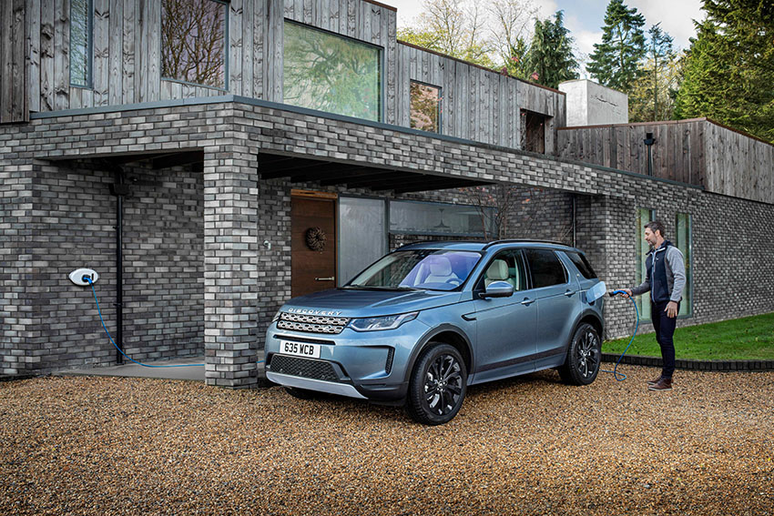 Nuevo Land Rover Discovery híbrido enchufable.