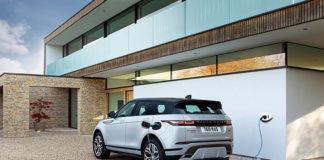 Nuevo Range Rover Evoque híbrido enchufable.