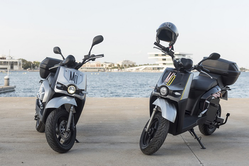 Molo es una empresa de motos eléctricas compartidas que opera desde 2018 en Valencia.