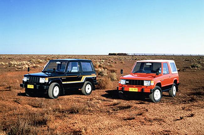 Mitsubishi Montero/Pajero de 1982, la primera generación del tt.