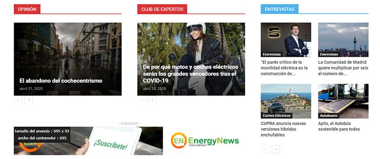 Nuestro grupo, Energy News Events, empezó su andadura en 2012.
