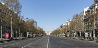 Las ciudades han reducido drásticamente su contaminación durante estos días de confinamiento. En la foto: París.