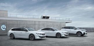 Los híbridos enchufables recogen lo mejor de tres mundos: de los vehículos eléctricos, híbridos y tradicionales. En la foto: Gama Peugeot PHEV.