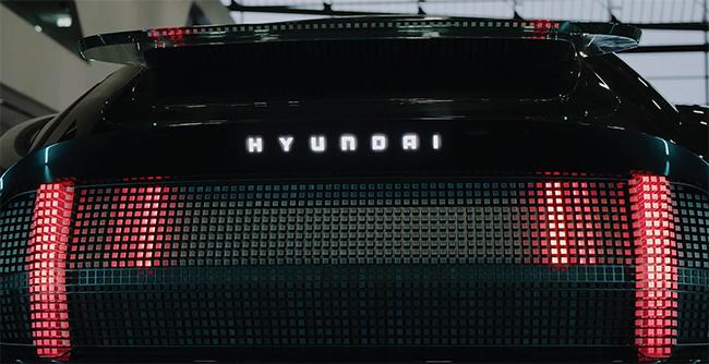 Parte trasera del Hyundai Prophecy.