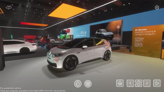 Salón Virtual de Volkswagen.