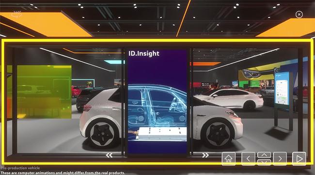 La experiencia de la visita permite interactuar en parte con los vehículos, incluso conocer detalles sobre ellos.