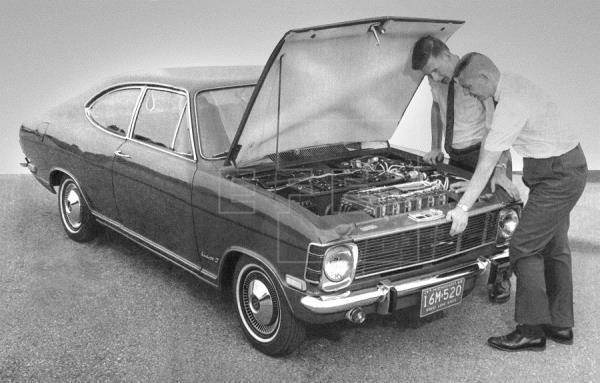 Opel Kadett B Stir-Lec 1 de 1968.