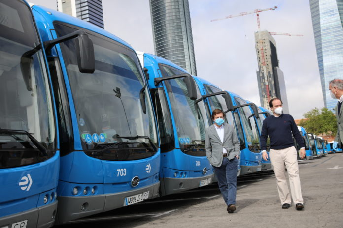 autobuses eléctricos