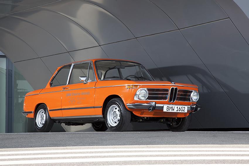 Todo comenzó con el BMW 1602, en 1972.