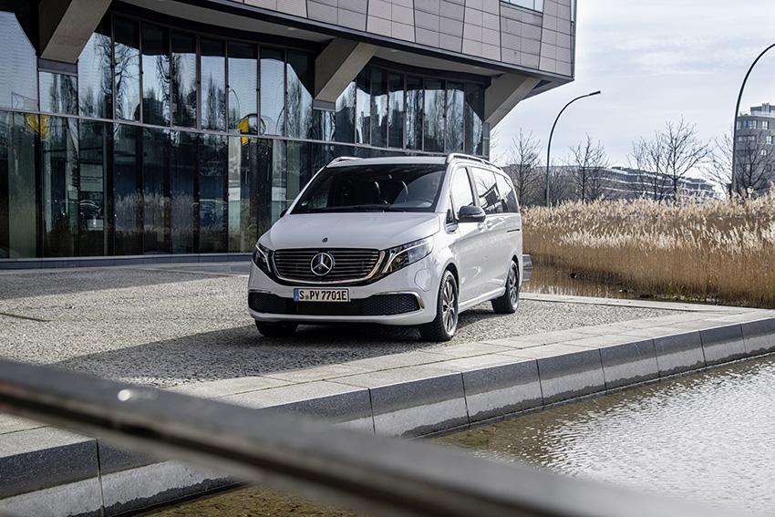 Mercedes abre las ventas del monovolumen eléctrico EQV.