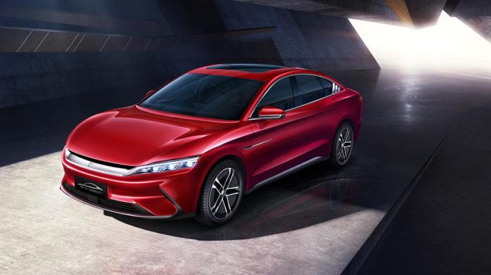 BYD Han EV, la berlina premium que llegará a Europa durante el 2020.