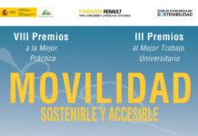 El plazo para la presentación de candidaturas a los Premios Movilidad Sostenible estará abierto hasta el 2 de julio.