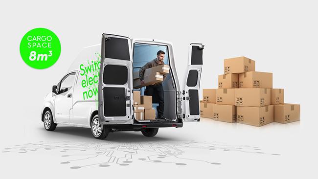 La furgoneta ha ampliado su capacidad y su maniobrabilidad, de cara a las entregas de última milla.