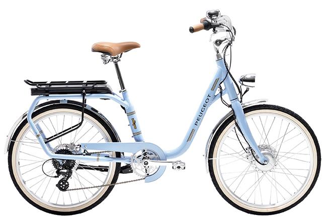 Bicicleta urbana Peugeot eLC01.