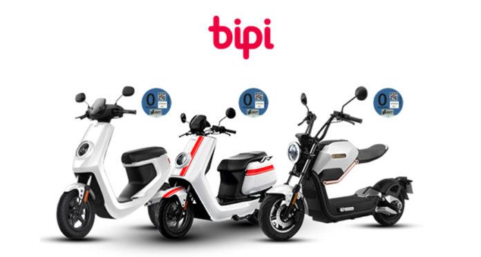 Bipi, la startup española, ahora ofrece también motos eléctricas.