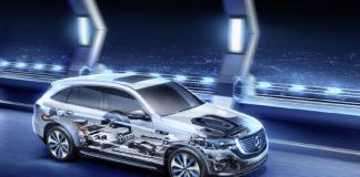 Los sistemas inteligentes del EQC ayudan a optimizar el uso de la energía.