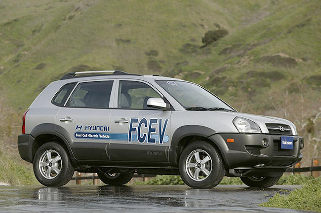 Hyundai Tucson FCEV.