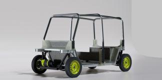 El chasis de D2H electrificará fácil y económicamente el popular Tuk Tuk.