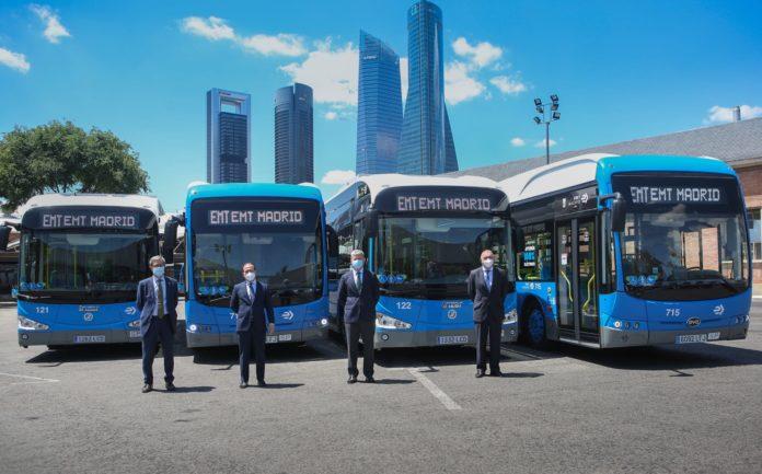 electrificación de la red de autobuses