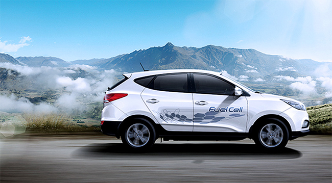 Hyundai ix35 Fuel Cell.