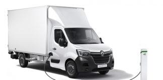 Nuevo Renault Master Z.E. en versión chasis-cabina.