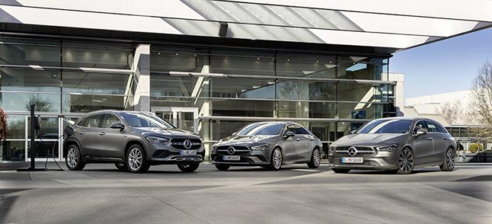 Mercedes-Benz GLA y CLA 250 e.