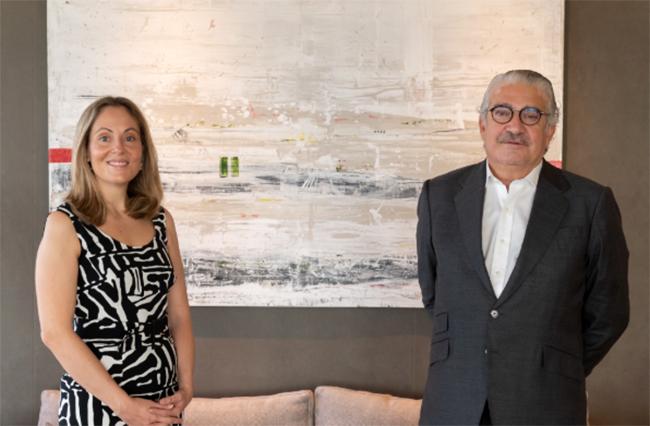 Emma Navarro y José Bogas. Foto: Endesa.