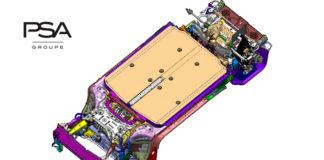 Nueva plataforma eVMP para vehículos eléctricos de PSA.