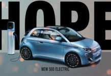 Fiat 500 'La Prima' descapotable.