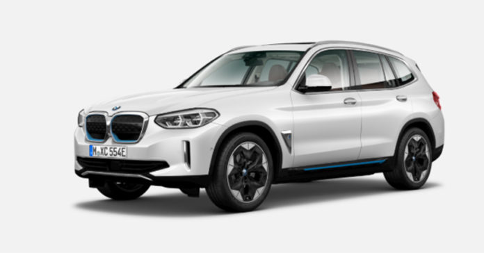 BMW iX3, en acabado Impressive,, desde 83.250 euros.