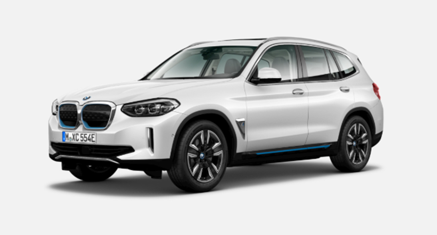 BMW iX3 en acabado Inspiring. Su precio: desde 77.900 euros.