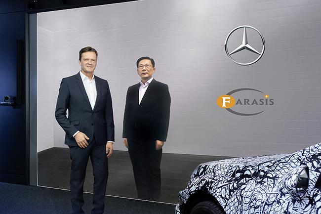 El acuerdo entre ambas compañías incluye una participación de Mercedes en el 3% del capital de Farasis.