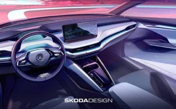 El interior del ŠKODA ENYAQ iV está hecho con materiales naturales, sostenibles y reciclados.