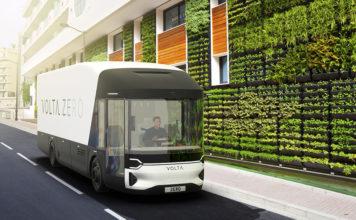 Volta Zero, el camión eléctrico de Volta Trucks para logística urbana.