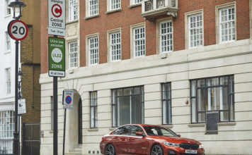 BMW eDrive Zones, de momento, está disponible en Londres y Birmingham.