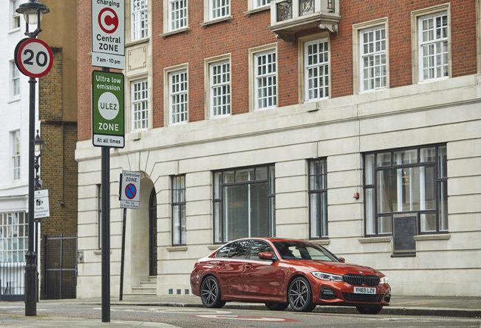 BMW eDrive Zones, de momento, está disponible en Londres y Birmingham.